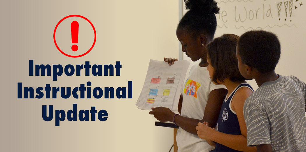 PWCS Instructional Updates